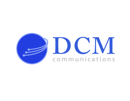 DCM Communications proposed logo sample
